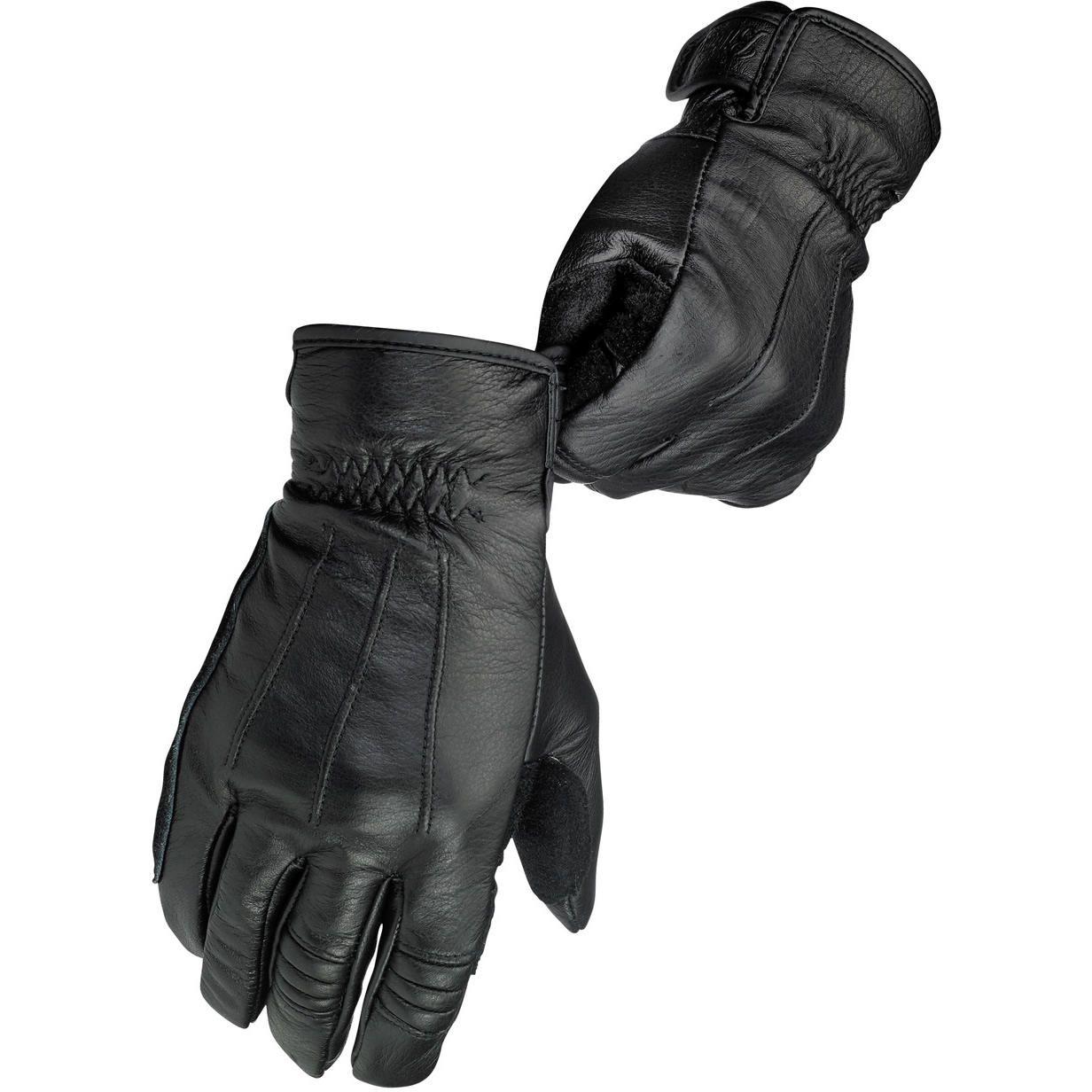 Leather work gloves ebay - Work Leather Cruiser Custom Cafe Racer Retro Motorcycle Gloves Ebay